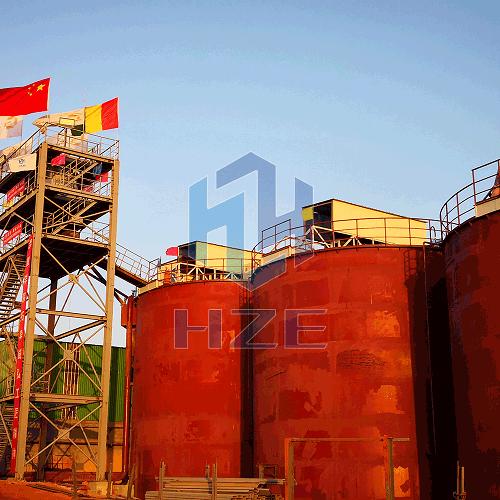 Guinea 4000 TPD Gold CIL Plant