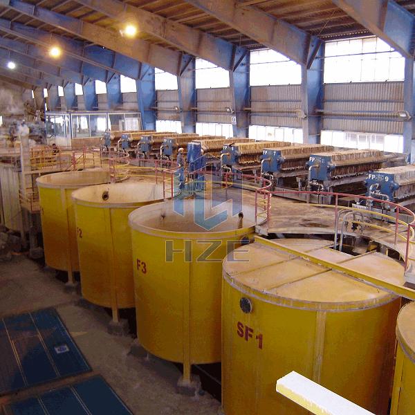 Iran 300 TPD Oxided Zinc Leaching Plant
