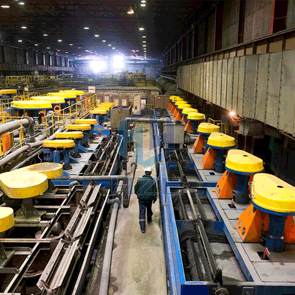 Gold or Silver Froth Flotation Plant