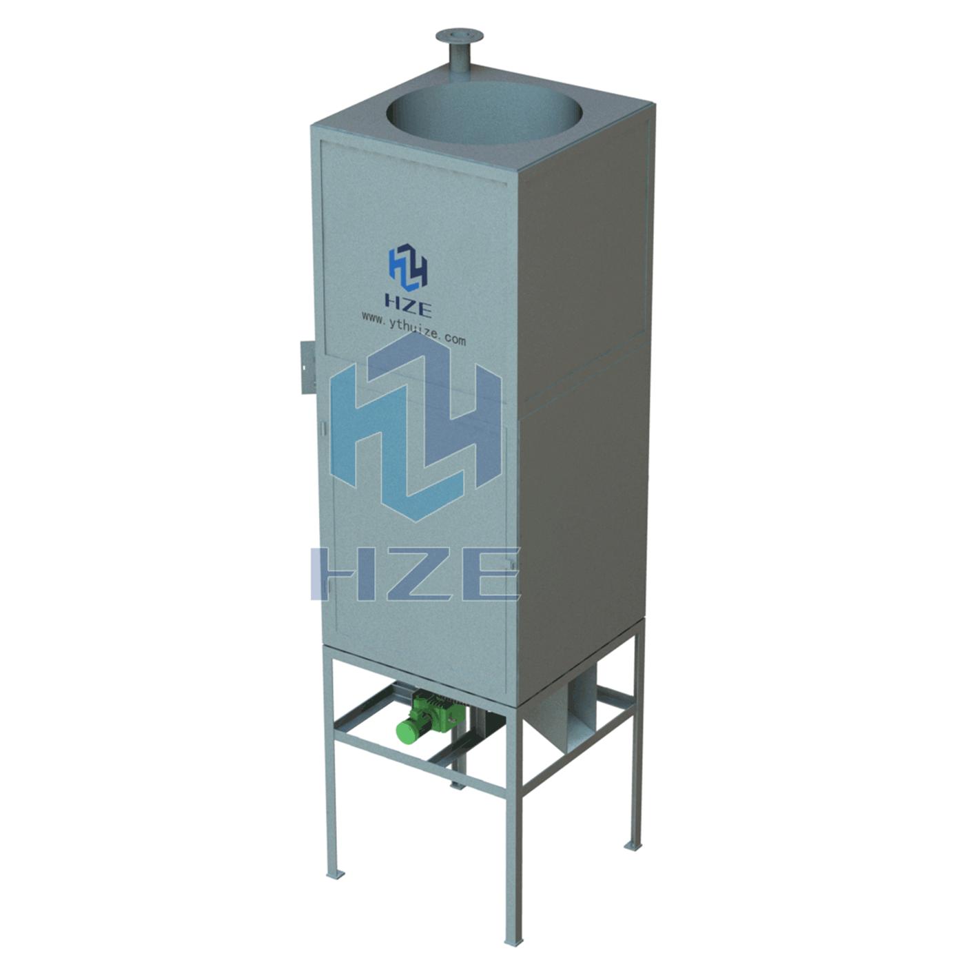Vertical Activated Carbon Regenerator