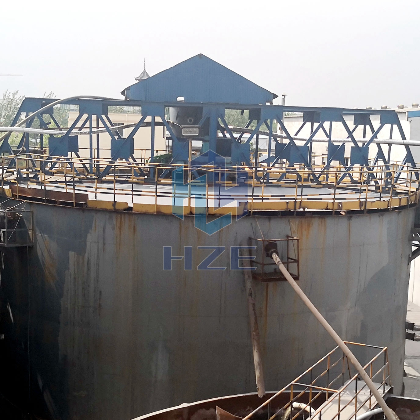 High-rate Thickener for Counter Current Decantation Circuit (CCD Process)