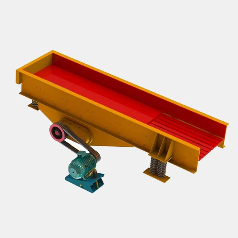 ZSW Vibrating Feeder with Grizzly