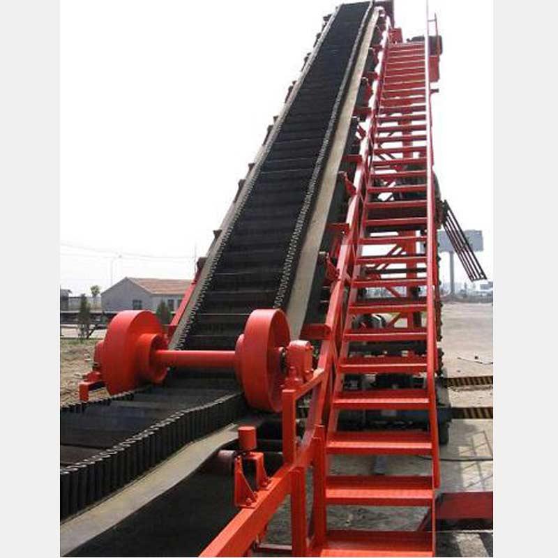Corrugated Sidewall Angle Conveyor
